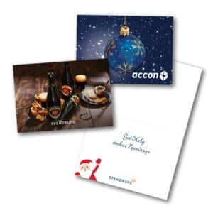 Julkort för företag Gullers Trading